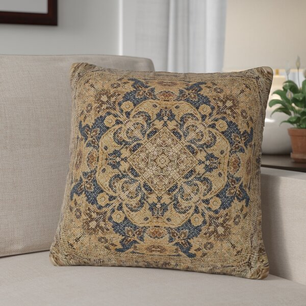 Bima 100% Cotton Throw Pillow by Fleur De Lis Living